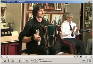 Снимок экрана: Flash player в режиме FLV видео